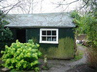Reconstruction of guide Hut, East Meon (Conservation Area)